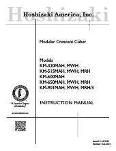 hoshizaki km 650mah ice maker kitchen equipment ckitchen com rh ckitchen com Hoshizaki Manuals AM150 ABF Hoshizaki Ice Machine Troubleshooting