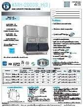 Hoshizaki KMH-2000SRH3.SpecSheet.pdf