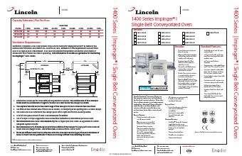 lincoln impinger i 1450 000 u conveyor pizza oven rh ckitchen com lincoln impinger pizza oven service manual Lincoln Impinger Conveyor Pizza Oven