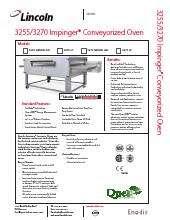 Lincoln Impinger 3270.SpecSheet.pdf