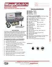 Magikitch'n LPAGA-30-SS.SpecSheet.pdf