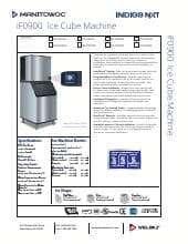 Manitowoc IDF-0900W-SPACE SAVER.SpecSheet.pdf