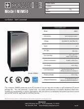Maxximum MIM50.SpecSheet.pdf