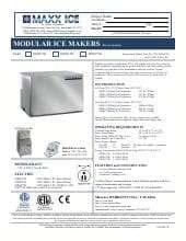 Maxximum MIM615H.SpecSheet.pdf
