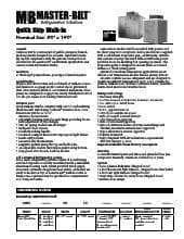 Master-Bilt Products MB5860814COX.SpecSheet.pdf