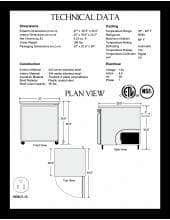 Spartan Refrigeration SUR-27.SpecSheet.pdf