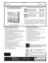 Traulsen ARI232L-FHS.SpecSheet.pdf