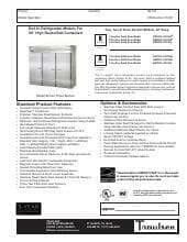 Traulsen ARI332L-FHS.SpecSheet.pdf