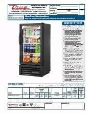 True Manufacturing Co., Inc. GDM-08-HC~TSL01.SpecSheet.pdf