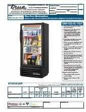 True Manufacturing Co., Inc. GDM-10SSL-HC~TSL01.SpecSheet.pdf