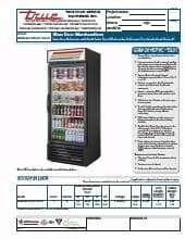 True Manufacturing Co., Inc. GDM-26-HST-HC~TSL01.SpecSheet.pdf