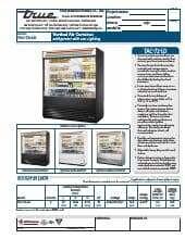 True Manufacturing Co., Inc. TAC-72-LD.SpecSheet.pdf