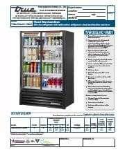 True Manufacturing Co., Inc. TVM-36SL-HC~VM01.SpecSheet.pdf