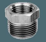 "FMP 117-1024 Brass Reducing Bushing - Hex 1/2"" x 1/4"" NPT"