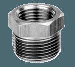 "FMP 117-1025 Brass Reducing Bushing - Hex 1/2"" x 3/8"" NPT"
