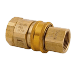 """FMP 157-1137 1"""" NPT Quick Disconnect by T&S Brass"""