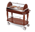 Geneva 70162 Appetizer Cart-Bordeaux