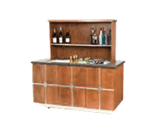 Geneva 79857 Bristol Portable Back Bar
