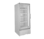 Global Refrigeration ULG30BC 31'' 27.3 cu. ft. 1 Section Silver Glass Door Merchandiser Freezer
