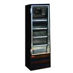 Howard-McCray GF22BM-FF-B 26.50'' 22.0 cu. ft. 1 Section Black Glass Door Merchandiser Freezer