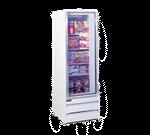 Howard-McCray GR19BM 26.50'' 1 Section Refrigerated Glass Door Merchandiser