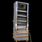 Howard-McCray GR19BM-S 26.50'' 1 Section Refrigerated Glass Door Merchandiser