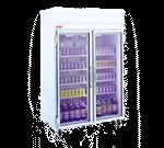 Howard-McCray GR48 52.25'' Section Refrigerated Glass Door Merchandiser