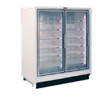 Howard-McCray RIN2-24-LED 54.88'' Section Refrigerated Glass Door Merchandiser