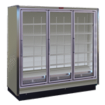Howard-McCray RIN3-30-LED-S 98.50'' Section Refrigerated Glass Door Merchandiser