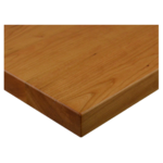 JMC Furniture 24 ROUND BEECHWOOD PLANK CHERRY Table Top