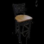 JMC Furniture WHITE HORSE CC BARSTOOL WOOD White Horse Barstool