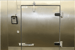 "Kolpak KFX7-0610-CR Walk-In Cooler 7'-6.25"" H, 5'-10"" W, 9'-8"" L floorless"