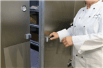 "Kolpak QS6-0612-FT Walk-In Freezer 6'-6.25"" H, 5'-10"" W, 11'-7"" L with Era floor"