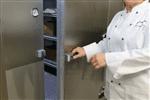 "Kolpak QS7-0612-FT Walk-In Freezer 7'-6.25"" H, 5'-10"" W, 11'-7"" L with Era floor"