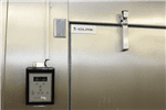 "Kolpak QS7-1208-FT Walk-In Freezer 7'-6.25"" H, 11'-7"" W, 7'-9"" L with Era floor"