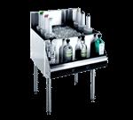 Krowne Metal KR21-24DP Royal 2100 Series Underbar Ice Bin/Cocktail Unit