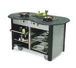 "Lakeside Manufacturing 63070 Creation Station"" Mobile Cooking Cart"