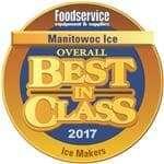 """Manitowoc ID-1872C Indigo"""" QuietQube Ice Maker"""