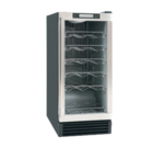 Maxx Cold MCWC28 14.50'' 1 Section Undercounter Refrigerator with 1 Right Hinged Solid Door and Side / Rear Breathing Compressor