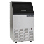 """Maxximum MIM75 16.50"""" Bullet Shaped Ice Ice Maker With Bin, Cube-Style - 50-100 lbs/24 Hr Ice Production, Air-Cooled, 110 Volts"""