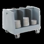 Metro DSD11 Poker Chip Polymer Dish & Tray Cart