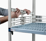 Metro MQL24-2S MetroMax Q™ Stackable Shelf Ledge