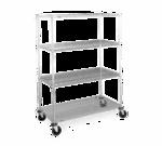 Metro N456BBR Super Erecta® Stem Caster Cart