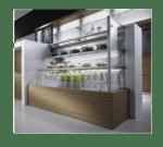 Oscartek MURO H11 2000 78.75'' Air Curtain Open Display Merchandiser with