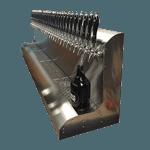 Perlick Corporation 4076BK6 Modular Draft Beer Dispensing Tower