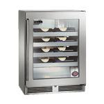 Perlick Corporation HD24WS Shallow-Depth Series Wine Reserve Refrigerator