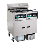 Pitco Frialator SELV14C-3/FD Solstice Reduced Oil Volume Fryer System