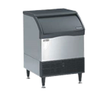 """Scotsman CU2026SA-6 26"""" Half-Dice Ice Maker With Bin, Cube-Style - 100-200 lbs/24 Hr Ice Production, Air-Cooled, 230 Volts"""