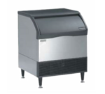 """Scotsman CU3030SW-1 30"""" Half-Dice Ice Maker With Bin, Cube-Style - 300-400 lb/24 Hr Ice Production, Water-Cooled, 115 Volts"""