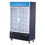 Spartan Refrigeration SGM-49RS Reach-In Refrigerator Merchandiser